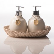 Beras Wutah Bathroom hotel amenities Bali White