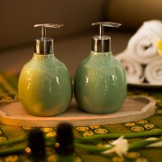 Beras Wutah Bathroom hotel amenities Bali Green
