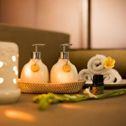 Beras Wutah Bathroom hotel amenities Bali Opaq Cream