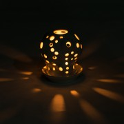 Cactus Candle Holder Dark