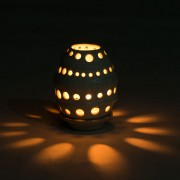 Cocoon Candle Holder small ambiance lighting products Bali dark