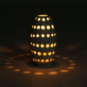 Cocoon Candle Holder big ambiance lighting products Bali dark