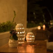 Tranquil ambient dinner