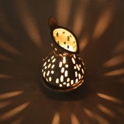 Nephentes Small Candle Holder ambiance lighting products Bali Dark