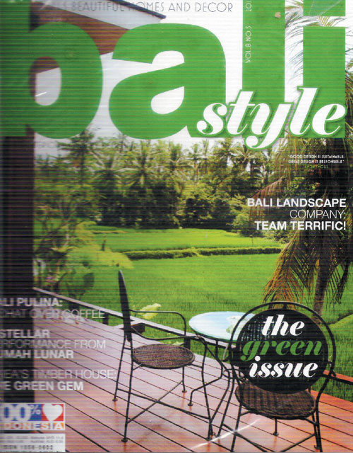 Natural Design Ideas of VDesign Featured in the Green Issue