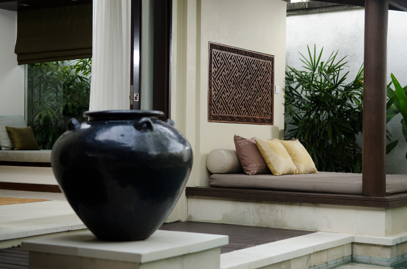 Ethic Modern Villa Ambiance Outdoors