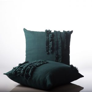Shoot Cushion Spa Design Green