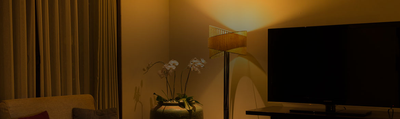 Dresser Standing Lamp Ambient Lighting