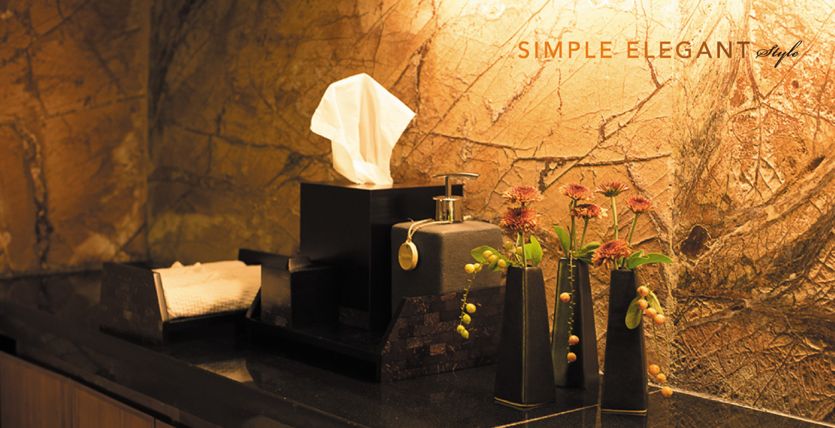 Simple Elegant Style Spa Design Amenities