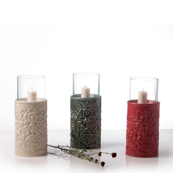 balinese candle holder, dinning restaurant,lighting ambiance