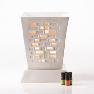 brick big oil burner,lighting ambiance, oil burner,spa