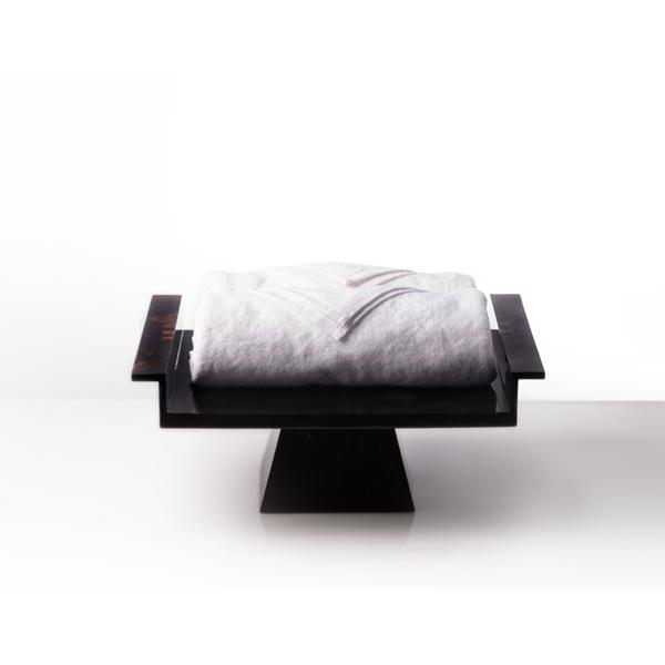dulang for towel, hospitality, bathroom accesories