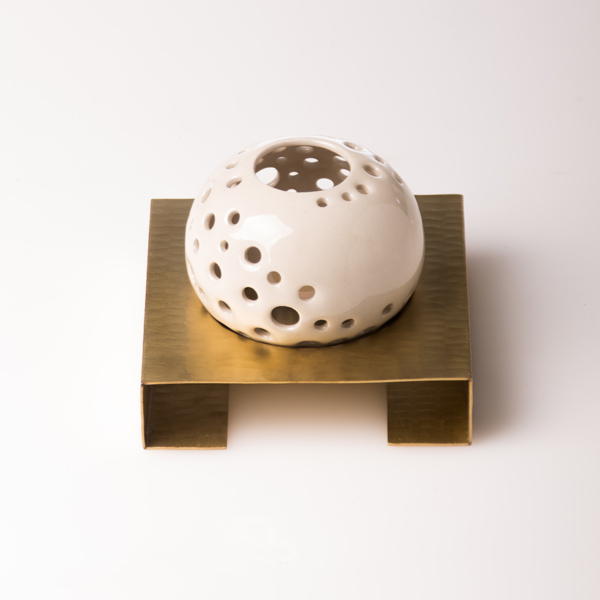 pearl candle holder white, dinning restaurant,lighting ambiance