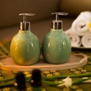 Beras Wutah Bathroom hotel amenities Bali Green