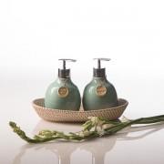 Beras Wutah Bathroom hotel amenities Bali Celadone-Green