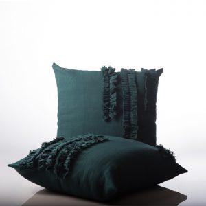 Shoot Cushion Spa Design Green
