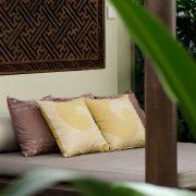 Batik Stamp Cushion Spa Design